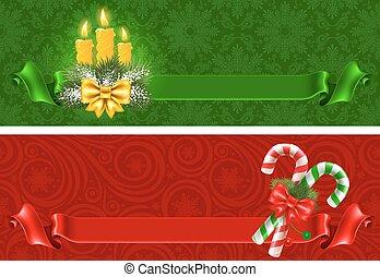 baner, jul