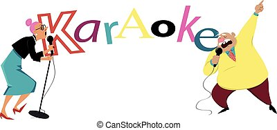 baner, karaoke, senior