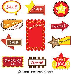 baner, sign/ad., försäljning