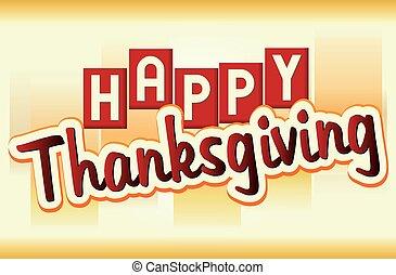 baner, tacksägelse, lycklig