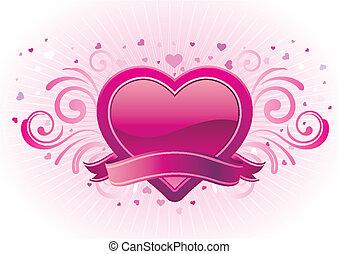 baner, valentinbrev