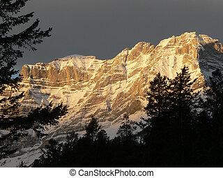 Banff Daybreak