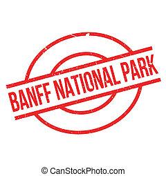 Banff National Park rubber stamp