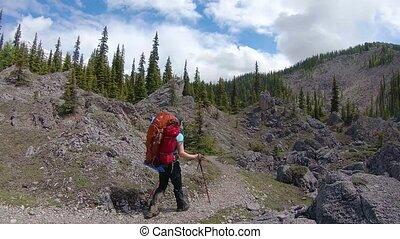 banff, provincial, mt, randonnée, aventure, iconique, ...