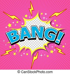 Bang! Comic Speech Bubble
