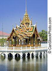 Bang Pa-In\'s Aisawan Thipya-Art pavilion (Divine Seat of...