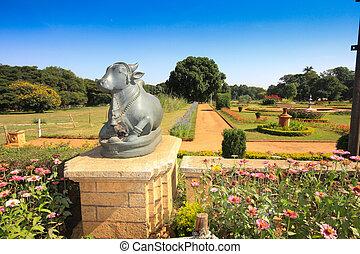 bangalore, jardins, palácio, formal