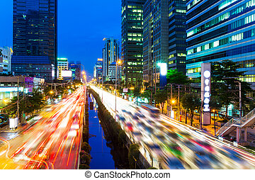 bangkok , γραμμή ορίζοντα , πελτέs , κυκλοφορία