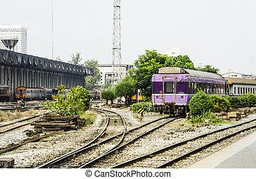 bangkok , σιδηροδρομικός σταθμός