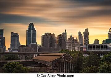 bangkok, bâtiments
