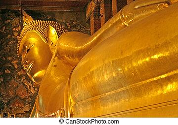 bangkok, buddha de descanso