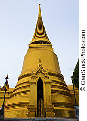 bangkok, chedi, budda, smeraldo, tailandia, tempio, principale