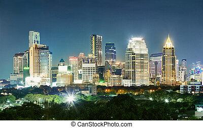 Bangkok city - night