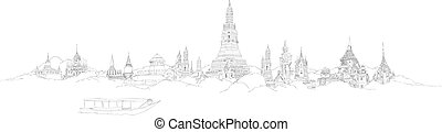 BANGKOK city sketch