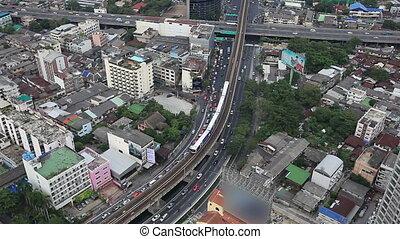 Bangkok City Train High View