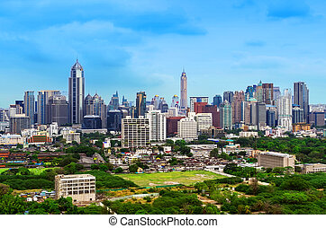bangkok city view - Bangkok cityscape. bangkok city view in...