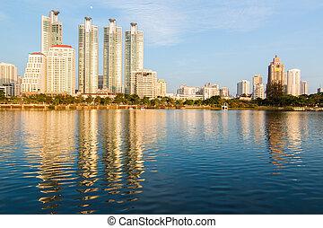 Bangkok cityscape Thailand