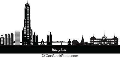bangkok, contorno