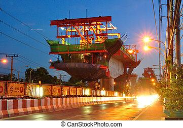 bangkok, -, július, 24:, szerkesztés hely, közül, bts, ég, kiképez, vasút, íme