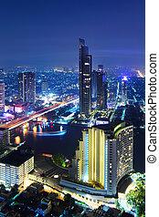 bangkok, láthatár