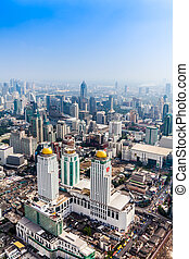 bangkok, láthatár, thaiföld