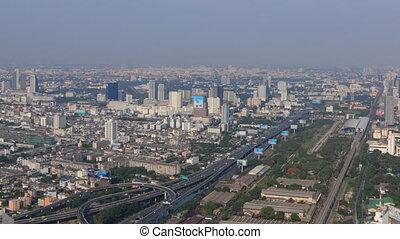 Bangkok landscape timelapse