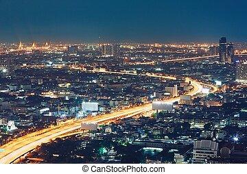 bangkok, nuit