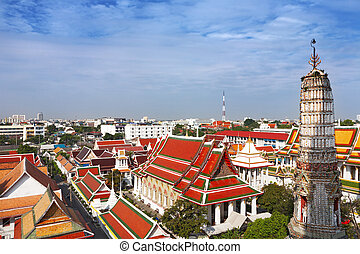 bangkok, orizzonte, città