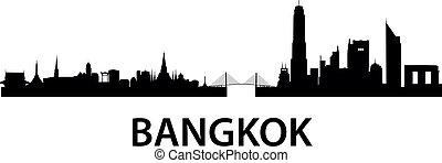 bangkok, orizzonte