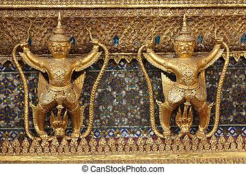 bangkok palace detail