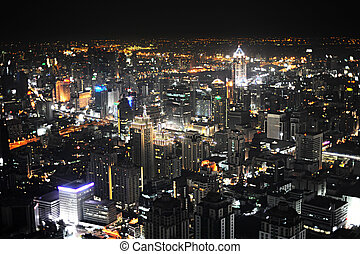 bangkok, por la noche