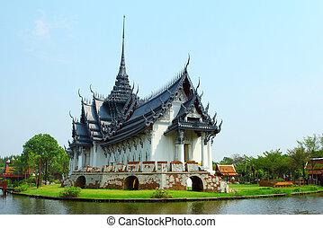 bangkok, prasat, sanphet, palazzo