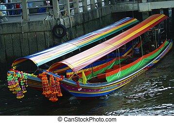 Bangkok River boat taxi
