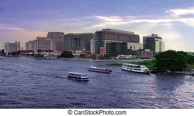 Bangkok river
