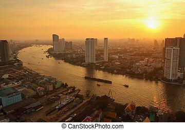bangkok, skyline