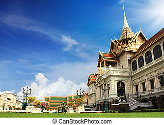 bangkok, tailandia, palazzo, grande