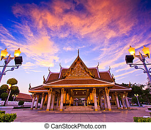 bangkok, tailandia, wat, tempio