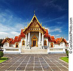bangkok, tempio, marmo