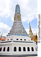 bangkok, tempio, tailandia, marmo