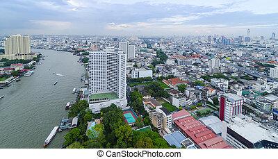 bangkok, thaïlande, horizon