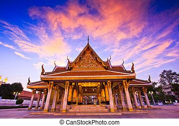 bangkok, thaïlande, wat, temple