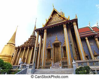 bangkok, thailand., grande palazzo