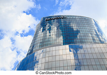 "BANGKOK, THAILAND - SEPTEMBER 9 : Modern glass building of ""Bang"