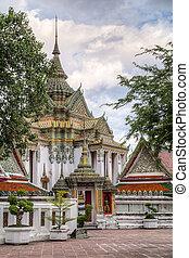 bangkok, wat, thaïlande, pho