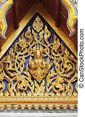 bangkok, wat, thailand., seekan