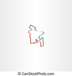 bangladesh map icon vector