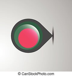Bangladesh Map Pin