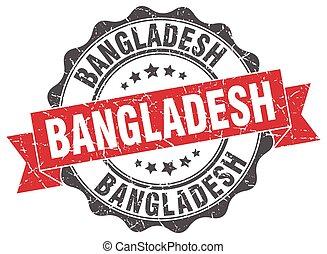 Bangladesh round ribbon seal