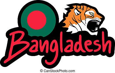 Bangladesh sticker - Creative design of bangladesh sticker