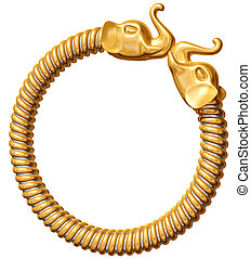 bangle, aziatische olifant